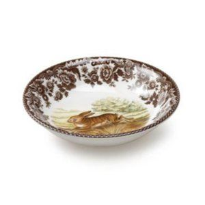 Spade Woodland Rabbit Collection Coupe Cereal Bowl